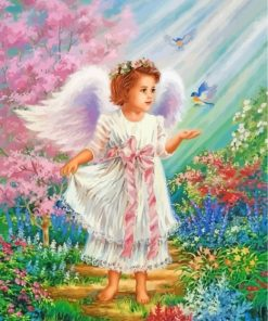 angel-little-girl-paint-by-numbers