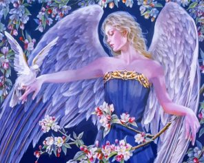 Archangel Haniel Paint by numbers