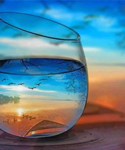 artistic-cup-of-water-paint-by-numbers