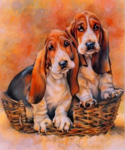basset-hound-dogs-paint-by-numbers