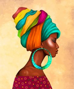 black-african-woman-paint-by-numbers