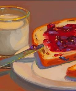 bread-and-milk-still-life-paint-by-numbers
