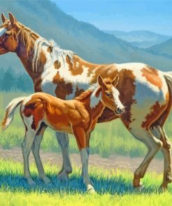 brow-horses-paint-by-numbers