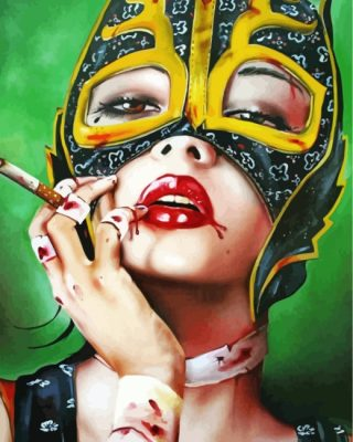 cat-woman-smoking-paint-by-numbers