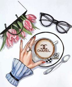 chanel-coffee-paint-by-numbers