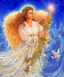 christmas-angel-paint-by-numbers
