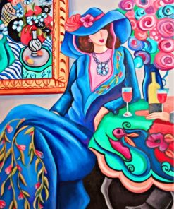 classy-woman-matisse-paint-by-numbers