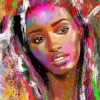 colorful-black-woman-paint-by-numbers