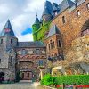 Cool Cochem Castle paint by numbers
