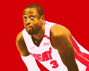 cool dwyane wade paint by numbers