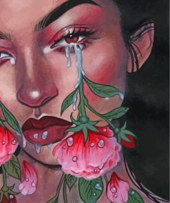 crying-roses-paint-by-numbers