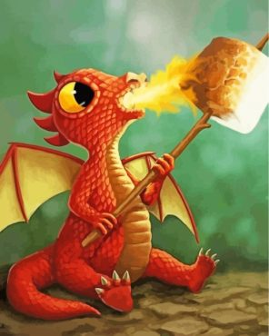 cute-baby-dragon-paint-by-numbers