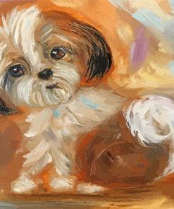 cute-shih-tzu-paint-by-numbers