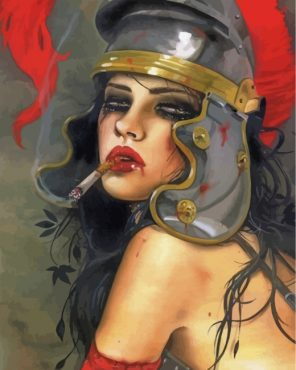 dangerous-lady-paint-by-numbers