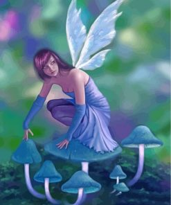 fairy-and-mushroom-paint-by-numbers