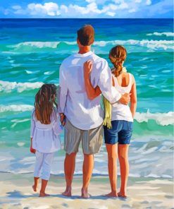 family-on-thhe-beach-paint-by-numbers