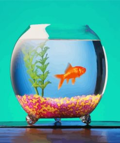 Fish Tank Paint by numbers