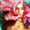 flower-woman-paint-by-numbers