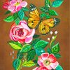 flowers-and-butterfly-paint-by-numbers