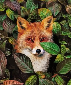 fox-with-red-eyes-paint-by-numbers