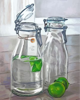 glass-bottles-paint-by-numbers