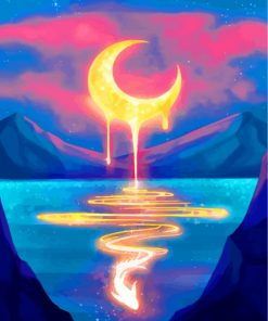 goldeng-crescent-moon-paint-by-numbers