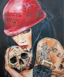 gothic-bad-girl-paint-by-numbers