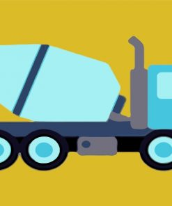 grey-truck-paint-by-numbers