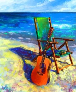 guitar-and-beach-chair-paint-by-numbers