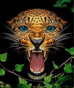 Mad Jaguar paint by numbers