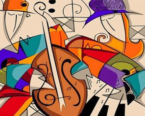 Kandinsky Abstract Art Paint by numbers
