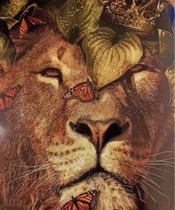 king-lion-and-butterflies-paint-by-numbers