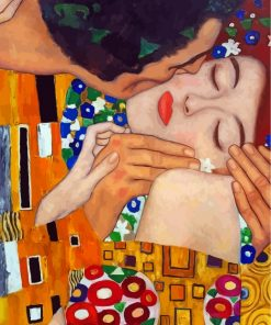klimt-the-kiss-close-up-paint-by-numbers