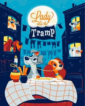 lady-and-the-tramp-paint-by-numbers