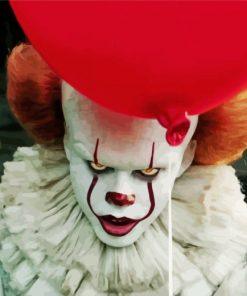 mad pennywise-paint-by-numbers