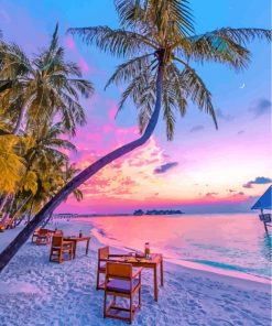 maldives-sunset-paint-by-numbers