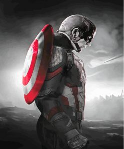 monochroma-captain-america-paint-by-numbers
