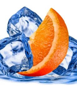 Orange And Ice paint by numbers