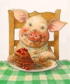 pig-eatinga-cake-paint-by-numbers