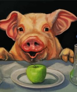 pig-getting-readu-to-eat-paint-by-numbers