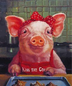 pig-making-cookies-paint-by-numbers