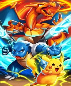 pokemon-pikachu-and-charizard-paint-by-numbers