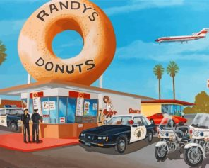 police-buying-donuts-paint-by-numbers