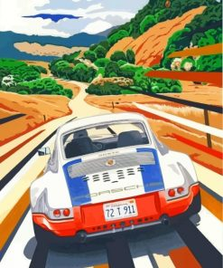 porsche-911-paint-by-numbers