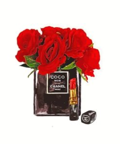 red-flowers-and-chanel-noir-paint-by-numbers