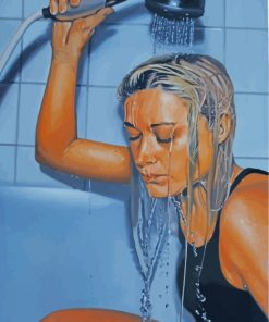 sad-woman-showering-paint-by-numbers