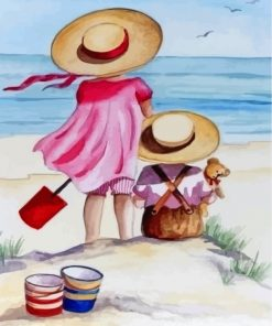 sister-and-brother-on-the-beach-paint-by-numbers