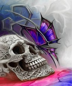 skull-butterfly-paint-by-numbers