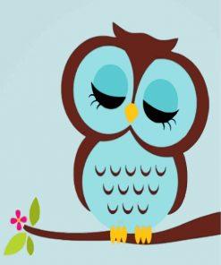 sleepy-owl-paint-by-numbers