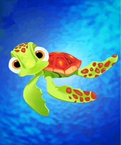 Squirt Finding Nemo Paint by numbers